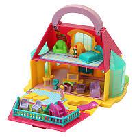 Съемный ручной DIY 2-Storey Таунхаус Play House Кукла Детский детский ребенок