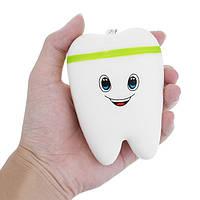 10.5cm Squishy Green Teeth Cute Slow Rising Toys Телефон Кулон Ароматизированная игрушка