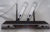 Радиосистема SHURE UGX58, микрофонная радиосистема, двухканальная беспроводная микрофонная радиосистема