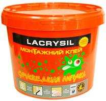 Клей монтажный универсальный акриловый Сумасшедшая липучка LACRYSIL,  6 кг