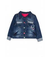 Курточка джинсовая для девочки (утепленная) Артикул 39.0919