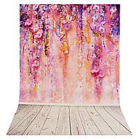 35x23 дюймов Фиолетовое дерево Романтический фон фотографии Фон Студия Prop