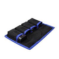 Meking Водонепроницаемы Nylon Батарея Хранение Организуйте Сумка для DSLR камера Li-battery