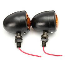 Мотоцикл LED Индикатор поворота указателя поворота заднего хода Лампа Для Harley, фото 3