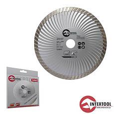 Intertool CT-2005 Диск отрезной Turbo, алмазный 230мм, 16-18%