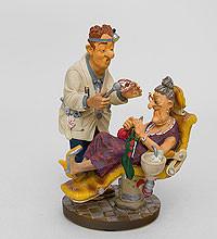 """Оригинальная статуэтка мал. """"Стоматолог"""" купить подарок"""