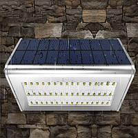 56 LED 1000 Lumens Rader Солнечная датчик света Водонепроницаемы Защитная стена Лампа для Сад Двор