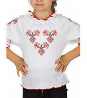 Вышиванка для девочек с длинным рукавом Артикул 39.1167
