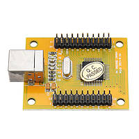 Двойной игрок Acarde Game Controller Encoder Board с кабелем для ПК PS3