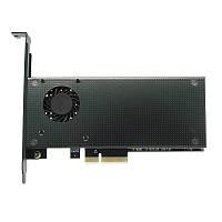 JEYI SK9 M.2 NVMe SSD адаптер NGFF для PCIE3.0 X4 X8 X16 Алюминиевая крышка Охлаждающий вентилятор с двойным интерфейсом