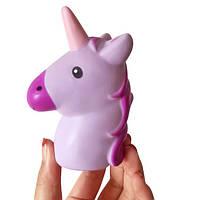 1PCS Unicorn Squishy Slow Rising Jumbo Cute Лошадь Кулон Ремень Soft Ароматная игрушка для мобильного телефона