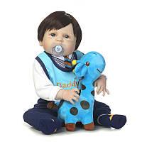 NPK 23 Reborn Baby Кукла Soft Body SIlicone Vinyl Lifelike Новорожденный мальчик Детский Кукла Детский детский подарок