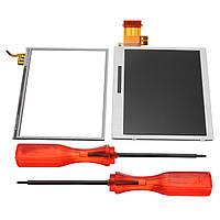 Нижняя часть LCD Дисплей Замена сенсорного экрана Инструмент Для Nintendo DS Lite DSL NDSL