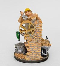 """Прикольная статуэтка """"Строитель"""" 22 см"""