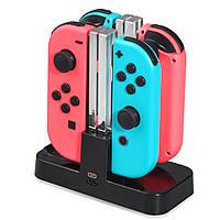 Портативный зарядное устройство для зарядки док-станции DOBE для Nintendo Switch Контроллер Joy-Con / Pro