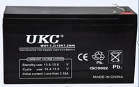Аккумулятор BATTERY 12V 7A UKC, аккумулятор battery, герметичная аккумуляторная батарея 12в