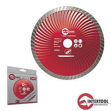 Intertool CT-2008 Диск отрезной Turbo, алмазный 150мм, 22-24%