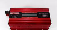Преобразователь тока AC/DC KC-1000D 1000W с LCD дисплеем, автомобильный инвертор
