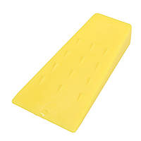 5 дюймов Желтый пластиковый режущий режущий инструмент для клинья для клинья для цепной пилы