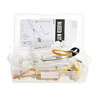 Гидравлический дисковый тормоз Шланг Регулировочный тормоз Инструмент Комплект направляющих тормозных колодок для Shimano Avid