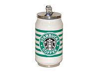 Термокружка в виде банки Starbucks 300 мл T73, термокружка с поилкой