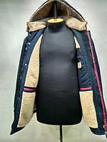 Мужская зимняя куртка пуховик на меху  Босс