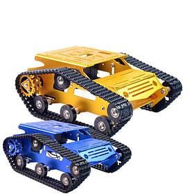 Xiao R DIY Самодельный алюминиевый сплав RC Wifi Робот Авто Шасси Набор Комплект