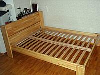 Кровать 140*190 материал - сосна щит