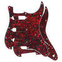 3ply Guitar Pickguard Direct Fit для США/MEX Fender Stratocaster Strat Electric Guitar