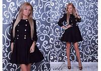 Платье с пуговицами №203 (02) , фото 1