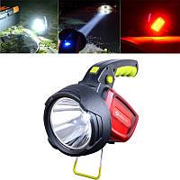 XANES LED Интеллектуальный яркий фонарик USB Перезаряжаемый На открытом воздухе Предупреждение Кемпинг Рыбалка Лампа Прожектор