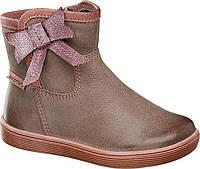 Кожаные ботинки для девочек