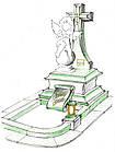 Памятник Ангел № 6, фото 3