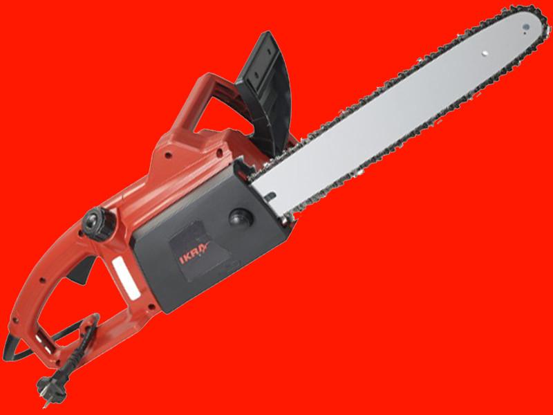 Электрическая цепная пила IKRA Mogatec KES 1800-35 см шина