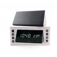 Часы настольные с будильником DW-1301 LED-Blue