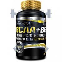 BioTech BCAA + B6 200 Caps БЦАА Аминокислоты для тренировок