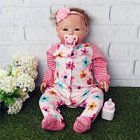 Handmade Lifelike Newborn Силиконовый Винил Reborn Gift Baby для девочки Дети Bebe Reborn