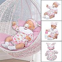 NPK 40cm Винил Силиконовый Reborn Кукла Реальная жизнь, как и смотреть Новорожденный ребенок Куклаs
