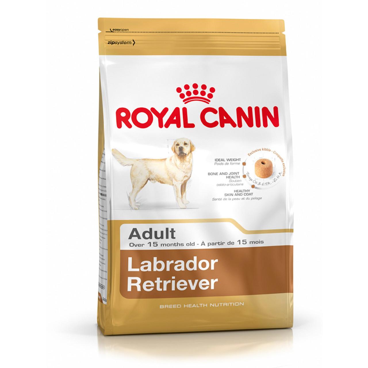 Сухой корм для собак Royal Canin (РОЯЛ КАНИН) LABRADOR RETRIEVER ADULT Лабрадор старше 15 месяцев, 12 кг