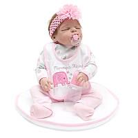 NPK 22 '' Реалистичное Handmade Full Body Силиконовый Reborn Baby Кукла Виниловые девочки Новорожденные