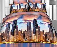 Комплект постільної білизни з бавовни Ранфорс (євро) (Комплект постельного белья из хлопка Ранфорс (евро))