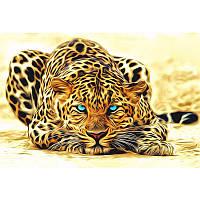 Unframed Leopard Animals DIY Картина по номерам Акриловая картина на стенах Художественная живопись на холсте Домашний декор Уникальный подарок