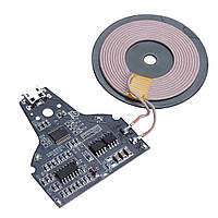 5V 2A Micro USB Qi Стандартное зарядное устройство для беспроводного телефона PCB-плата DIY Зарядка для мобильного телефона