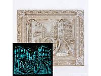 "Картина светящаяся ""Венеция мостик"""