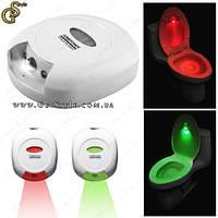 """Подсветка для унитаза с датчиком движения - """"Toilet Light"""", фото 1"""
