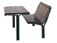 Комплект парковая скамейка и стол, под заказ 5 дней (700064)