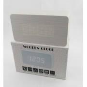 Настольные электронные часы c будильником DW-1295