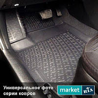 Модельные коврики в салон Mercedes C-Class (204) 2007-2011 Компл.: Полный комплект