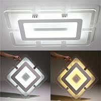 28W 42 * 42 см акриловый квадратный современный потолочный светильник для домашнего декора гостиной AC220V
