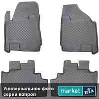 Модельные коврики в салон Mercedes C-Class (204) 2011-2014 Компл.: Полный комплект